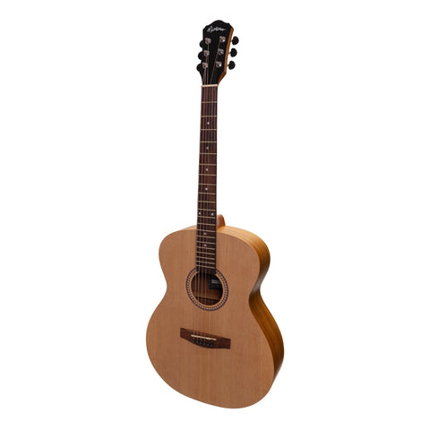 Martinez Small Body Acoustic-Electric Guitar (Spruce/Koa) - Musiclandshop