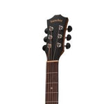 Sanchez SFC-18 Koa Small-Body Cutaway Acoustic-Electric Guitar (Natural Satin) - Musiclandshop