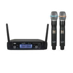 SoundArt SPLL-20-2M Dual-Channel UHF Wireless Dual Handheld Microphone System - Musiclandshop
