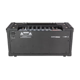 Strauss SBSK-F10 'Busker' Stereo 20 Watt Solid State Rechargeable DC Amplifier (Black) - Musiclandshop