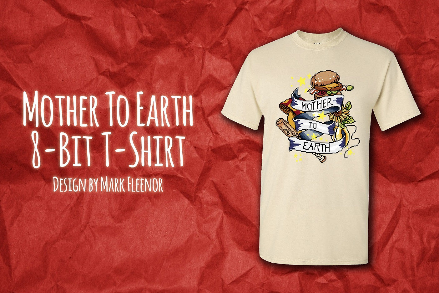 Mother To Earth 8-Bit T-Shirt