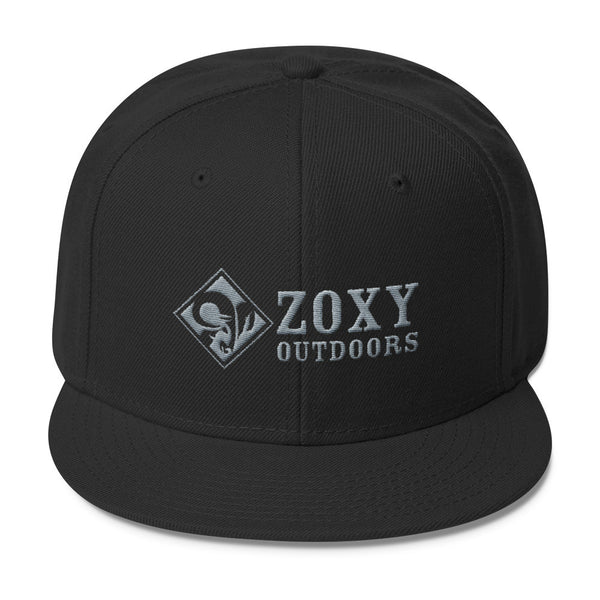 Zoxy Outdoors   Wool Blend Snapback   zoxy clothing.myshopify.com