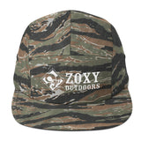 Zoxy Outdoors   Five Panel Cap   zoxy clothing.myshopify.com