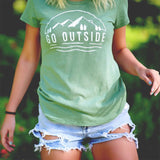 Go Outside - Women's Graphic Tee