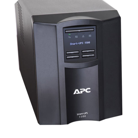 APC SMT1500C 1440 VA 1000 Watts 120V 8 Outlets Pure Sinewave Smart-UPS with SmartConnect