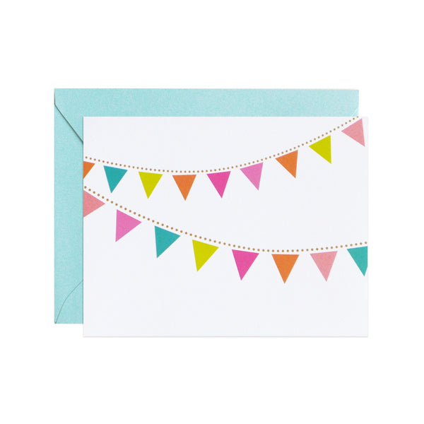 party pennants notecards