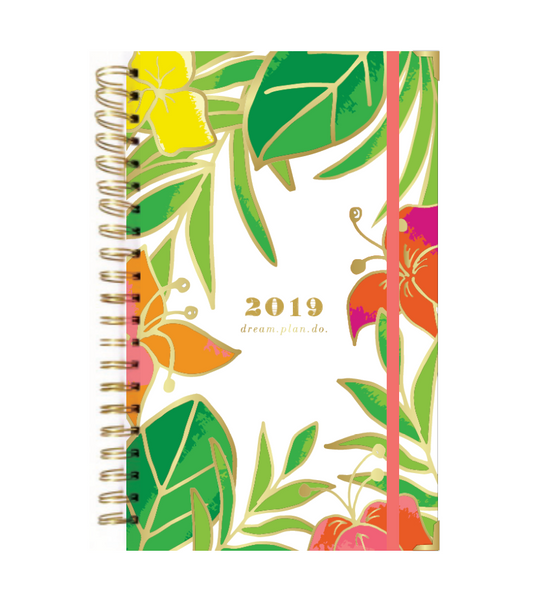 2019 SLIM VACAY PRINT dream.plan.do. planner PREORDER