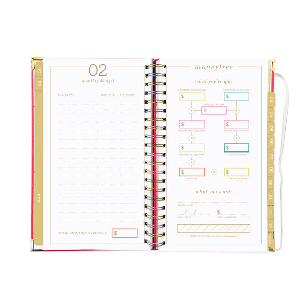 2019 SLIM VACAY PRINT dream.plan.do. planner