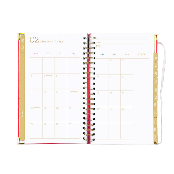 2019 SLIM PAINT STRIPE dream.plan.do. planner