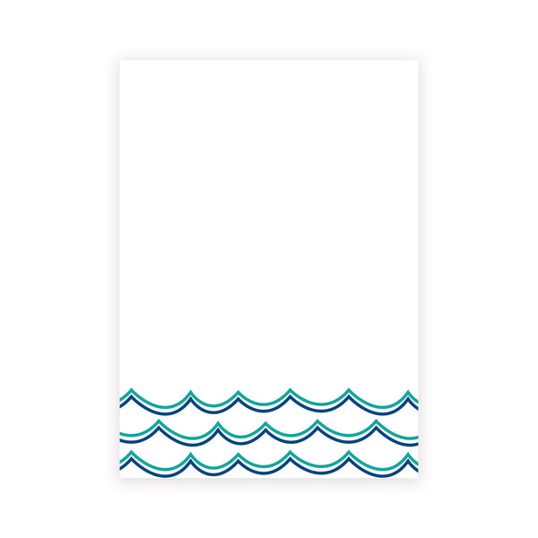 making waves chunky notepad