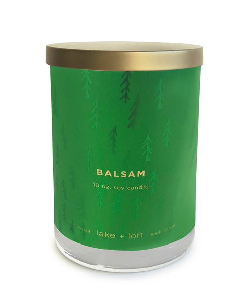 balsam candle-10oz