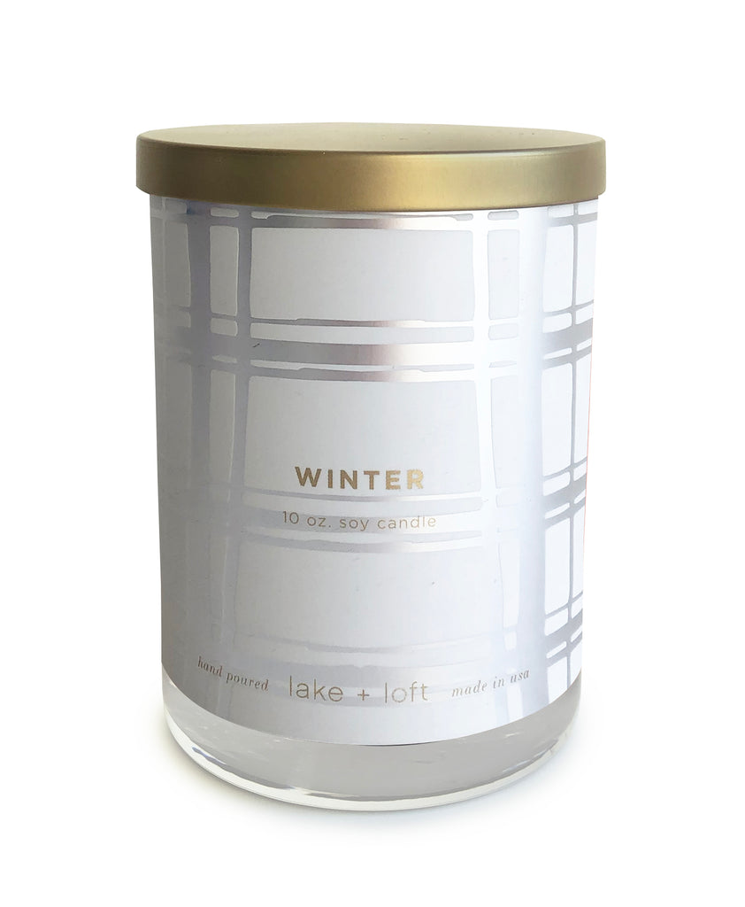 winter candle-10oz