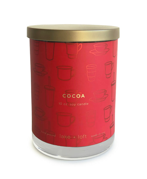 cocoa candle-10oz