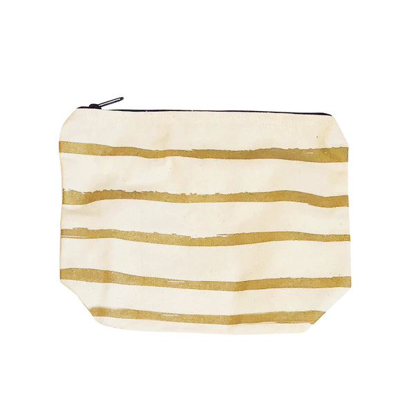 paint stripes pouch