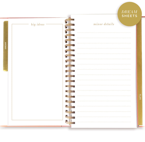 PAINT STRIPE dream.plan.do. planner (PRE-ORDER) - lake + loft