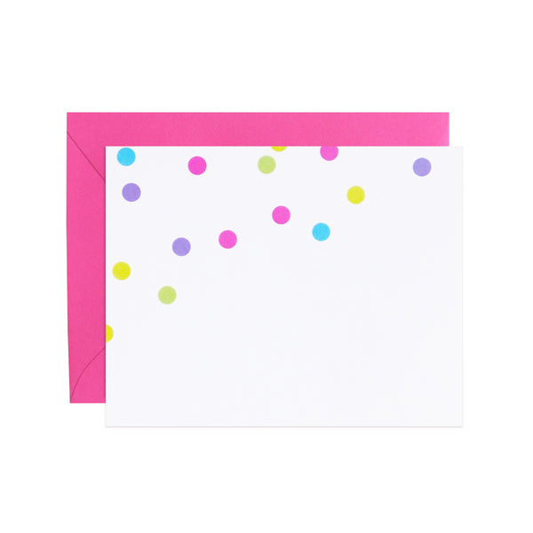 confetti notecards