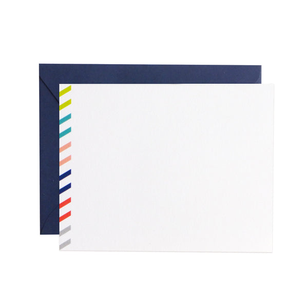 airmail flat notecards