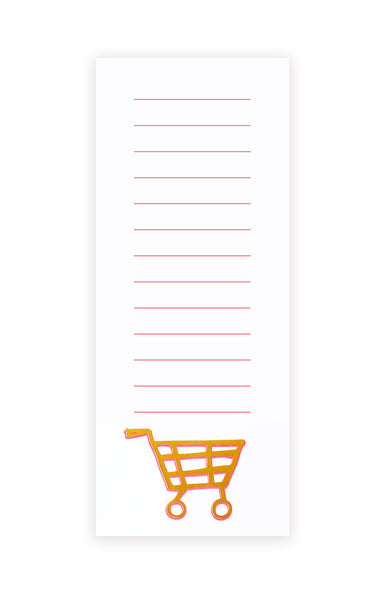 SHOPPING CART market pad