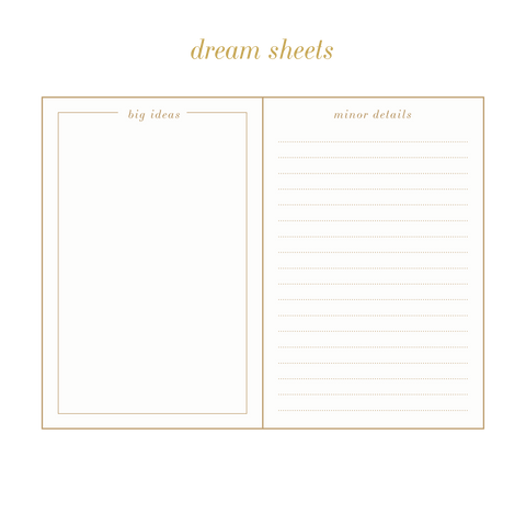 UNDATED dream.plan.do. planner
