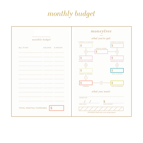 UNDATED wild side planner