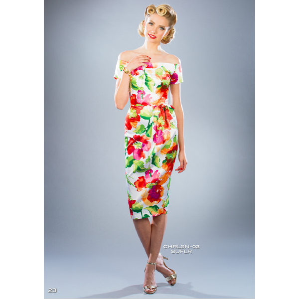 Charleston Wiggle Dress - Vicious Venus
