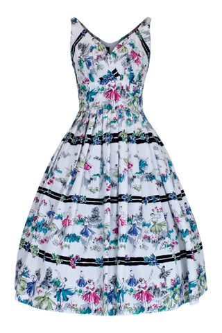 Elizabeth Prima Ballerina Swing Dress