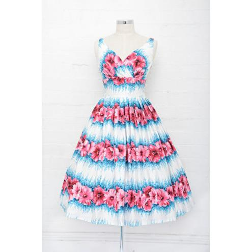 Elizabeth Kiss Me Quick Swing Dress - Vicious Venus