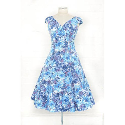 Empire Summer Days Swing Dress - Vicious Venus