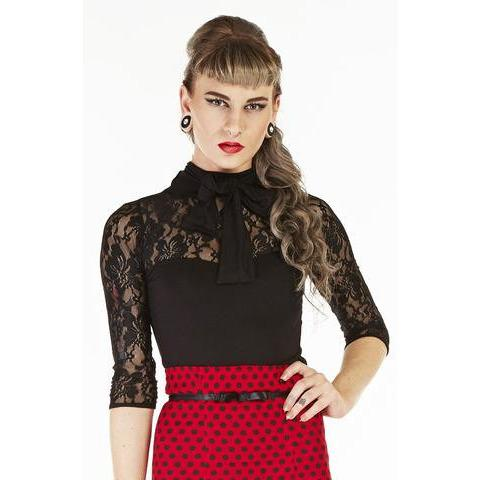 Kitty Kat Blouse Tops - Vicious Venus