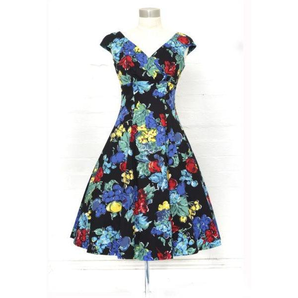 Empire Portabello Swing Dress