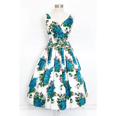 Elizabeth Posie Blue Swing Dress