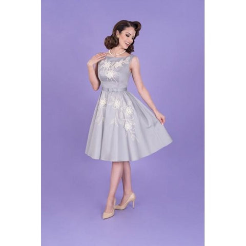Crystal Flared Dress