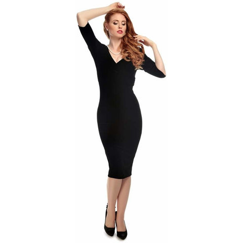 Phyllis Velvet Pencil dress