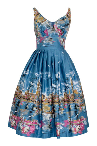Elizabeth Old London Town Swing Dress