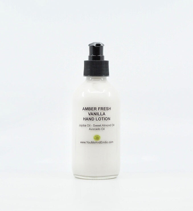 Amber Fresh Vanilla Hand & Body Lotion