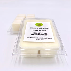 Oak Moss Soy Wax Melts