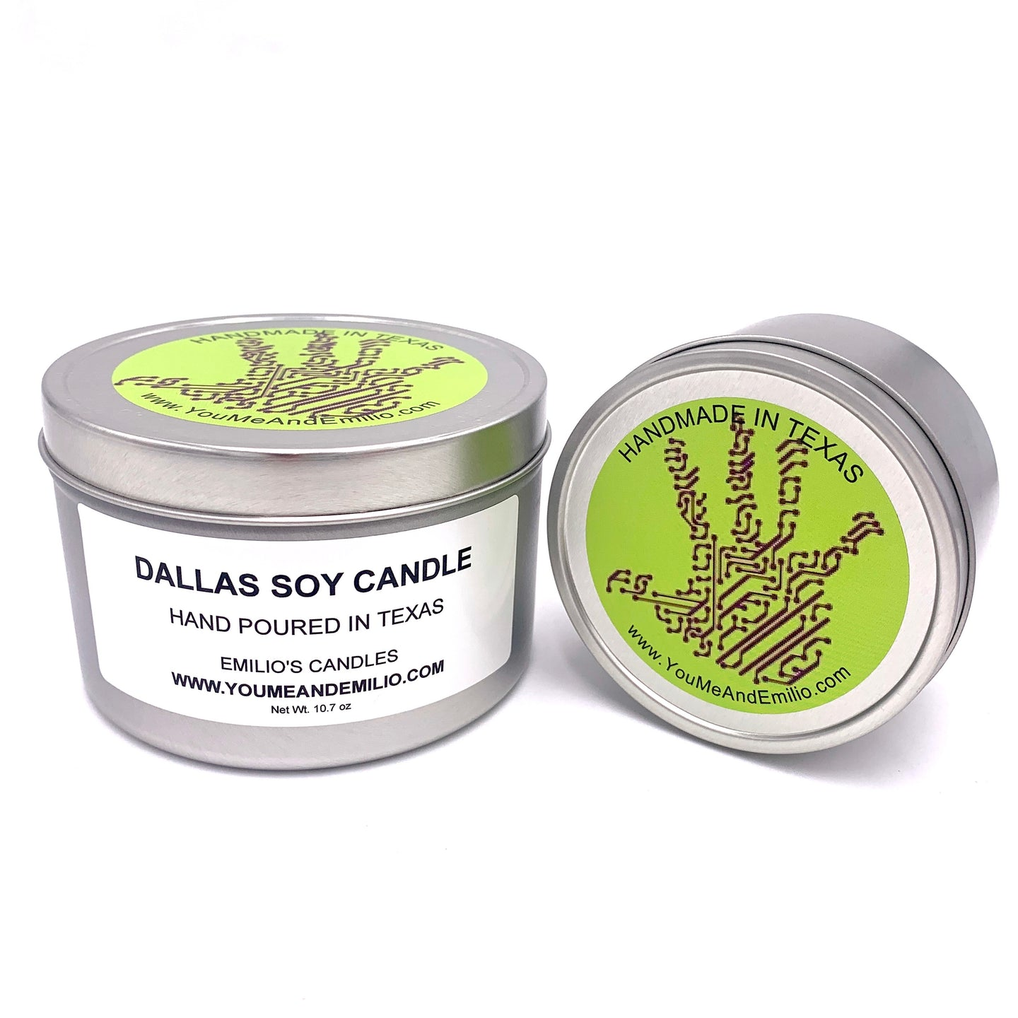 Dallas Soy Candle