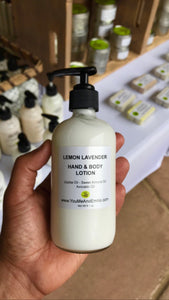 Lemon Lavender Hand & Body Lotion