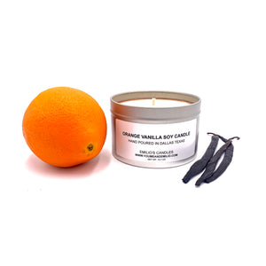 Orange Vanilla Soy Candle