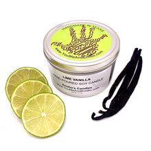 Lime Vanilla Soy Candle
