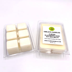Almond Blackberry Sage Soy Wax Melts