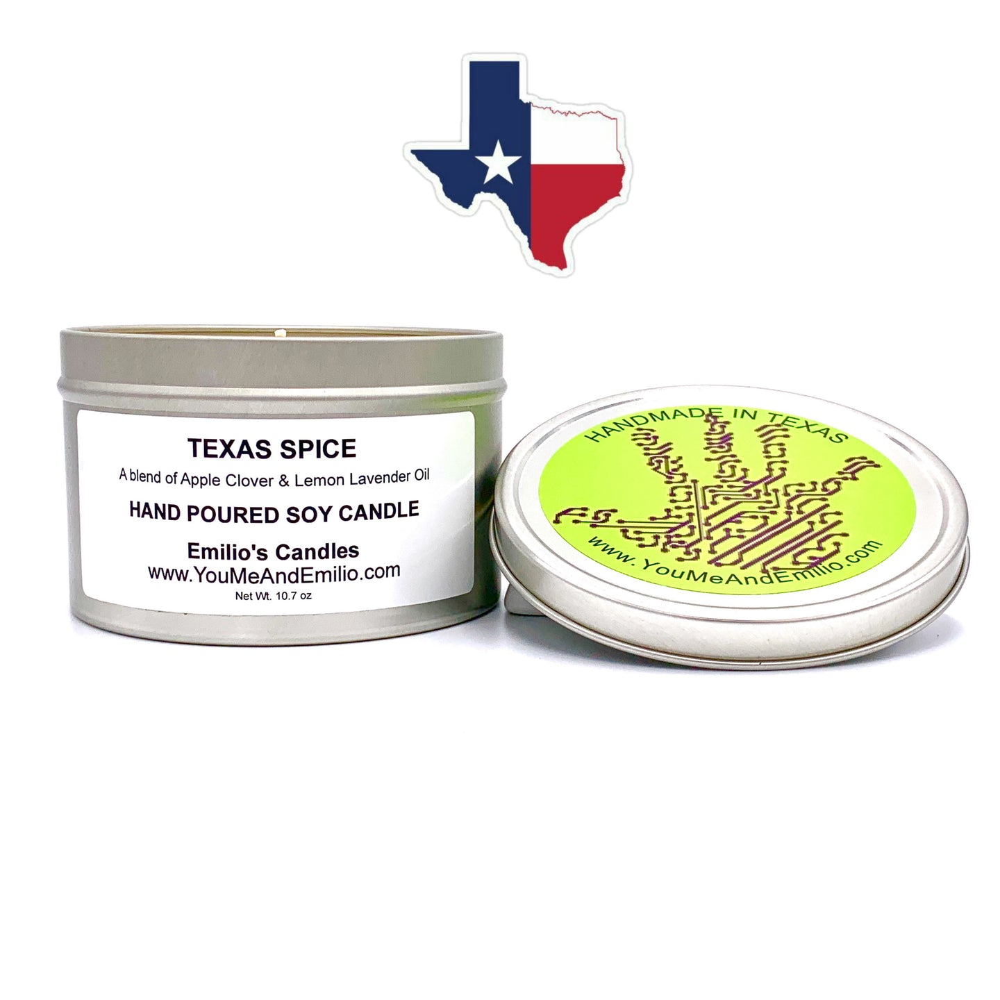 Texas Spice Soy Candle