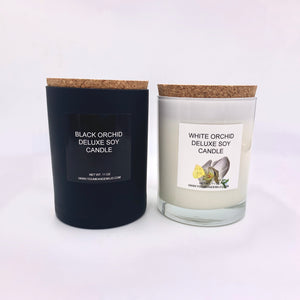 White Orchid Deluxe Soy Candle | Limited Edition