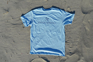 Recycled Tee - Light Blue