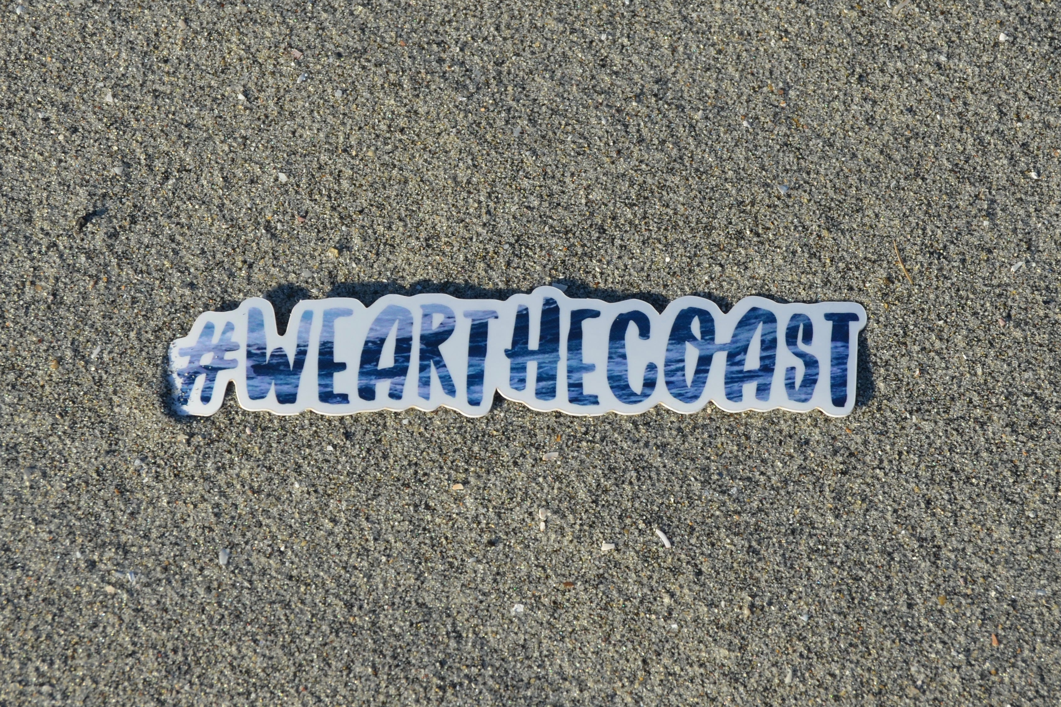 Wear The Coast - Sticker