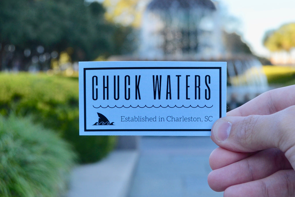 Born in Chuck Sticker - 3 Pack