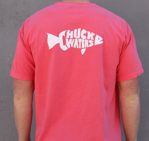 Short Sleeve CW Fish Tee - Watermelon