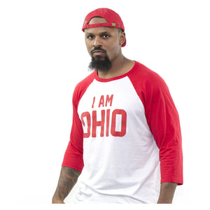I Am Ohio 3/4 Sleeve Tee