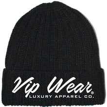 Load image into Gallery viewer, Vip Wear Beanie Black