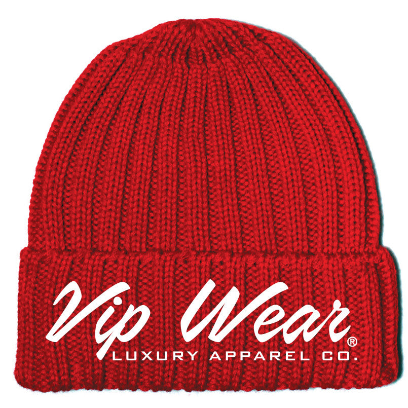 Vip Wear Beanie Red